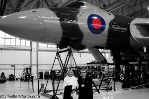 VTTST Liaison Toni Hunter & twitterVforce reporter Amy Parkin