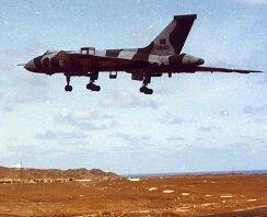 01/05/2013 XM607 and the Withers crew recovered safely to Ascension 15 hours & 45 mins after take off