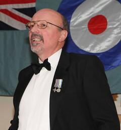 01/05/2013 Squadron Leader Martin Withers DFC, today Martin is still involved with the Vulcan
