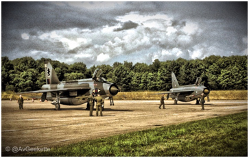 A brace of English Electric Lightning F6